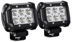 Limited Time Offer on Nilight Spot Driving Fog Light Off Road Led Lights Bar Mounting Bracket for SUV Boat 4 Jeep years Warranty.