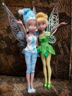 Periwinkle & Tinkerbell dolls