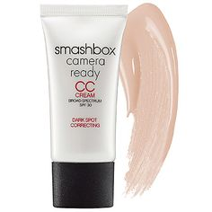Camera Ready CC Cream Broad Spectrum SPF 30 Dark Spot Correcting - Smashbox   Sephora
