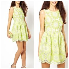 HP 4/27Asos Floral Lace Dress  Asos Floral Lace Dress   Condition: Excellent, only worn once, fully lined  Damages: No Damages Size: 6 No trade ASOS Dresses