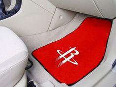 "NBA - Houston Rockets 2-piece Carpeted Car Mats 17""x27"""