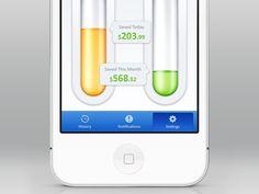 Savings App iOS