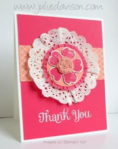 Julie's Stamping Spot -- Stampin' Up! Project Ideas Posted Daily Flower Shop