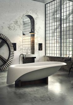 INTERIORS / DECOR / EXTERIORS / Bath Tub — Designspiration