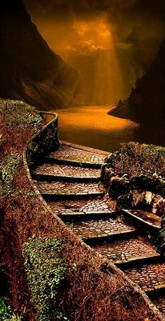 Passage | Path | Route | Entry & Exit | Moving | Travel | Forward | Steps | via: mareli72 - Imgend