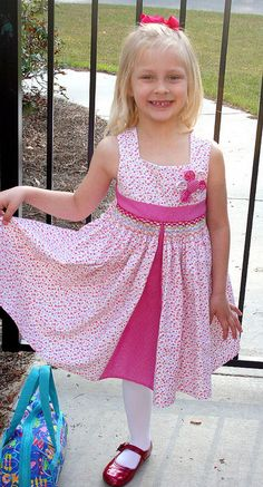 Jewel and her Easter dress by iveyc95, via Flickr