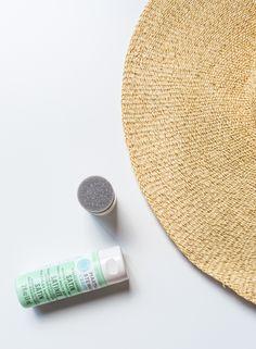 DIY // Polka dot floppy hat