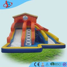 How to start a hot business in coming summer? Sibo inflatable is your best cooperate friend. Sibo have many different inflatable products with own factory. One of inflatable water toys is very now as below picture. This inflatable castle has two slides and small water pool. Kids can play with his brothers, sisters, classmates and friends together. See, this inflatable can bring so much fun to kids, and also can bring you high profits. Summer is so hot, why not to start inflatable business…