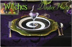 Invite the girlfriends over for a WITCHES Dinner Party! #Halloween #PaRtY