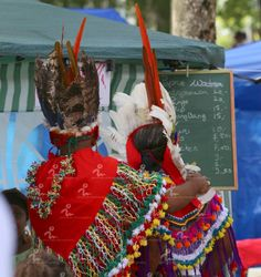 Native day in Suriname( Indians)