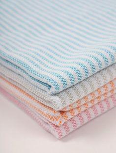 Bondi Baby Hammam Towel, Blue #category:hammam-towels #colour:blue #group:Hammam-Towels