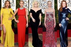 2016 Golden Globe Fashion Friday with The HQB!