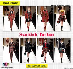 Scottish Tartan #print #prints #fashion