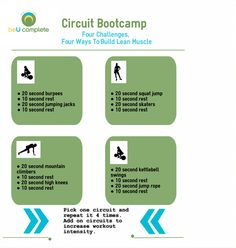 Frustrated that you are not getting the results you want? Use this circuit bootcamp to get challenged and get results today!  Lean muscle | home workout | body weight exercises | cardio