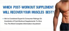Which post-workout supplement will recover your muscles best? Best Post Workout Drink, Workout Drinks, Post Workout Supplements, Muscles, Muscle