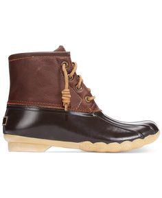 Sperry Women's Saltwater Duck Booties - Boots - Shoes - Macy's