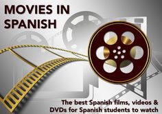 The best Spanish films, videos & DVDs for Spanish students to watch. #learn #Spanish