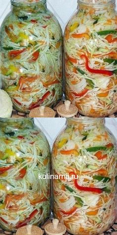 "Peerless cabbage salad for the winter ""Autumn"".- Peerless cabbage salad for the winter ""Autumn"". Gluten Free Carbs, Gluten Free Pie, Marinated Vegetables, Vegetarian Recipes, Cooking Recipes, Cabbage Salad, Yummy Drinks, Fresh Rolls, Bon Appetit"