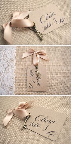 Vintage key escort cards your guests will love! With quirky calligraphy. … Vintage key escort cards your guests will love! With quirky calligraphy. Wedding Favors For Guests, Unique Wedding Favors, Wedding Place Cards, Wedding Table, Diy Wedding, Dream Wedding, Wedding Ideas, Wedding Prep, Bridal Shower Decorations