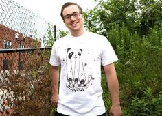 """Fake Pandas Have More Fun"" - Threadless.com - Best t-shirts in the world"