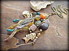 Boho Hippie Necklace  Boho Jewelry  Hippie by HandcraftedYoga, $40.00
