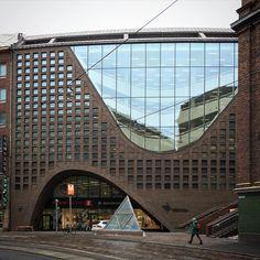 #Helsinki University Main Library by Anttinen Oiva Architects  #architecture #archdaily #instagood #finland #anttinenoiva #iphonesia
