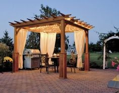 Have you ever wondered how to build a pergola? Here is a step-by-step guide on how you can build your very own pergola and save thousands in the process! Space First off, make sure you have the space for a pergola. While they can differ in size. Diy Pergola, Building A Pergola, Pergola Curtains, Wood Pergola, Pergola Plans, Pergola Ideas, Outdoor Curtains, Cheap Pergola, Wooden Gazebo