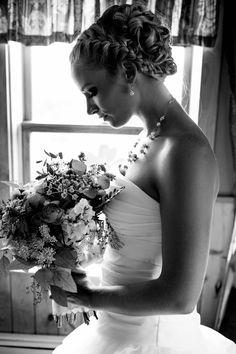 #Bride #TheBride #Flowers #Bouquet #BridesBouquet  #BlackAndWhite
