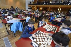 Tournoi d'échecs scolaire