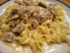 Crock Pot Chicken and Mushrooms