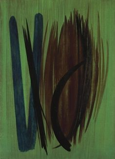 by Hans Hartung, 1957