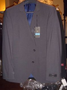 Next Italia Gray Jacket Suit Blazer Super 110s Size 42 M 36 L ...