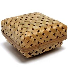 Natural woven rush box by nomliving.com on Flickr.
