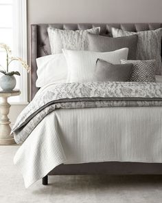 Isabella Collection by Kathy Fielder Rane Queen Duvet and Matching Items Bed Linen Design, Bed Design, King Comforter, Queen Duvet, Linen Bedding, Bedding Sets, Bed Linens, Bedroom Images, Bedroom Designs