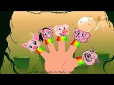 Animated pig nursery finger family rhyming poem | New latest phonic
