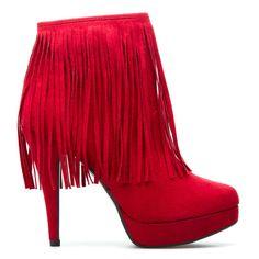 Callia fringed shoes :}