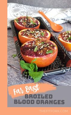 A little sweet, a little sour and a little salty -- and a totally amazing side dish or healthier dessert. Suitable for paleo and vegan diets. A quick, easy and creative recipe for citrus. For more clean eating inspo and fruit recipes, visit thefitfork.com