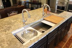 The galley sink 5 feet of function!
