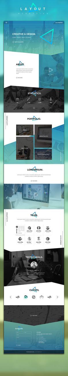Creative Portfolio Web Design