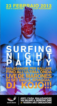 Surfing Night Party!