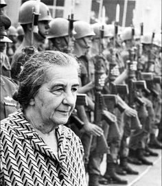 Meir became Israel's prime minister in 1969, and in October 1973, with her country on the ropes, she teamed up with U.S. arms to beat Arab foes.