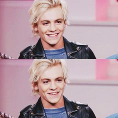 I love his actual smile. This one. The one that you can't help but smile to. *starts singing 'Smile' by R5*