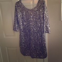 Memorial Day Sale!! Lauren Conrad sequined dress Beautiful sequined dress. All of my items come from a  free  free home. Questions welcome! Lauren Conrad Dresses Mini