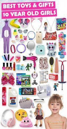 Tons Of Great Gift Ideas For 10 Year Old Girls GiftsIdeasForHim Diy Christmas Gifts