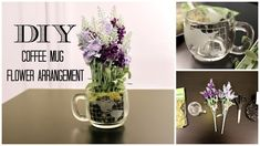 Why buy an expensive flower bouquet when you can DIY it? I show you how to made your own one-of-a-kind coffee mug flower arrangement that's not only cheap, but an easy and fun way to spruce up a room.