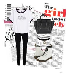 """""""Untitled #4"""" by vishielark on Polyvore featuring H&M, Dr. Martens and Charlotte Russe"""