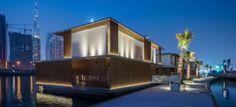 Dubai floating homes, EQUITONE facade panels. equitone.com
