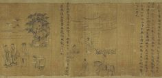 Song The Classic of Filial Piety, Northern Song dynasty (960–1127), ca. 1085 Li Gonglin (Chinese, ca. 1041–1106) Handscroll; ink on silk; various dimensions
