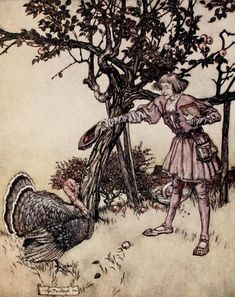 Arthur Rackham, PUCK OF POOK'S HILL.