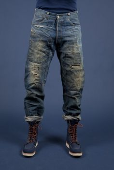 Levi's Vintage Clothing 1890 501 Spur Bites Limited Edition - - I like.